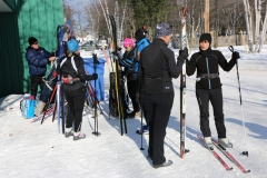 Groupe de ski de fonds
