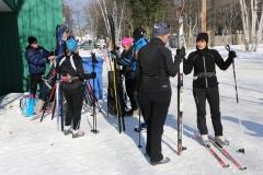 Groupe de ski de fonds