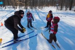 Moniteur de ski de fonds