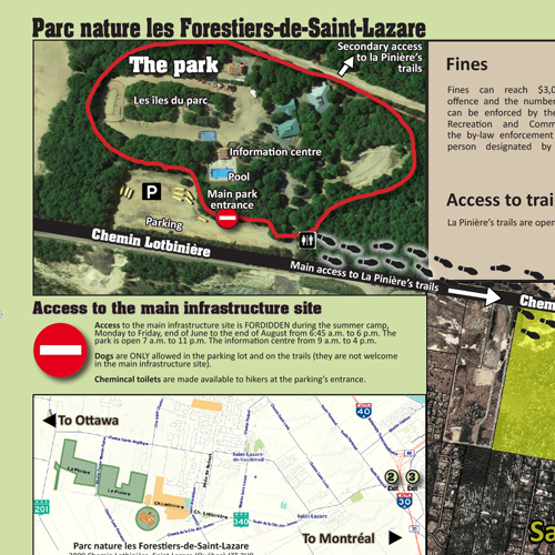 Carte-des-sentiers-de-la-Pinière_aout-2016_EN_repères-2